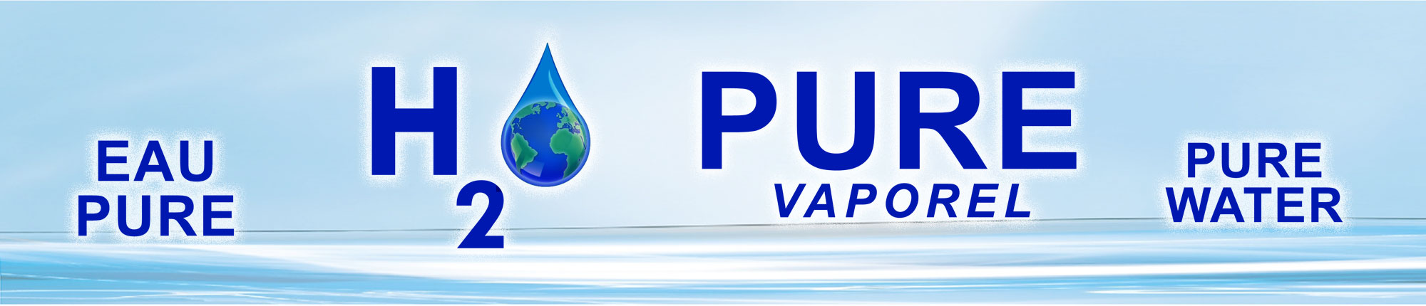 Vaporel H2o Pure Header Banner